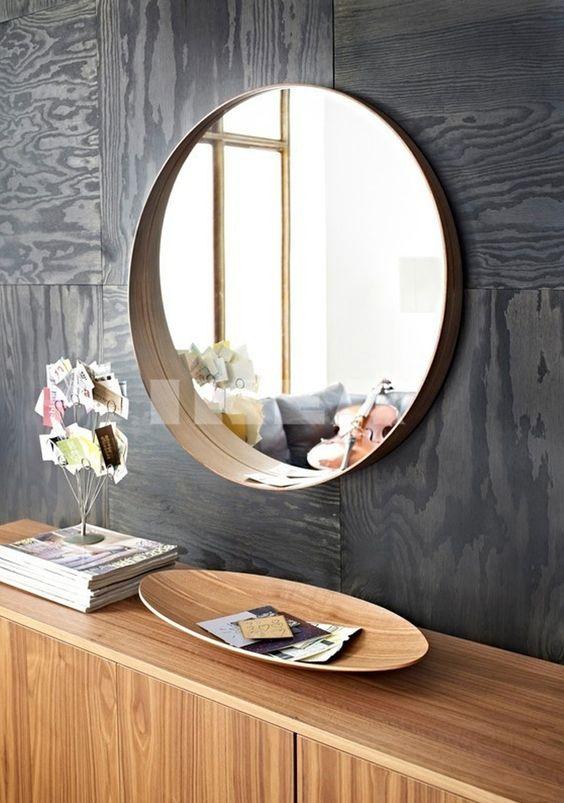 Déco 2.0 Round mirror 9