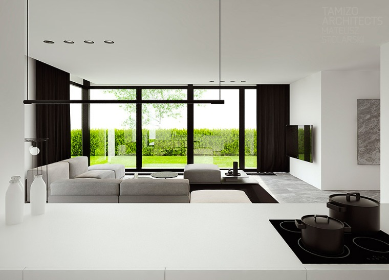 Déco 2.0 Black and White house 1