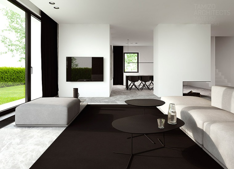 Déco 2.0 Black and White house 12