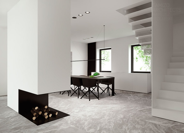 Déco 2.0 Black and White house 5