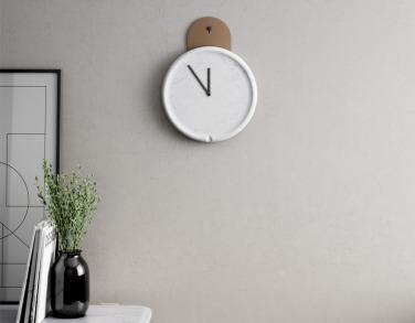 Déco 2.0 Horloge Tanko par Retegui marbrerie